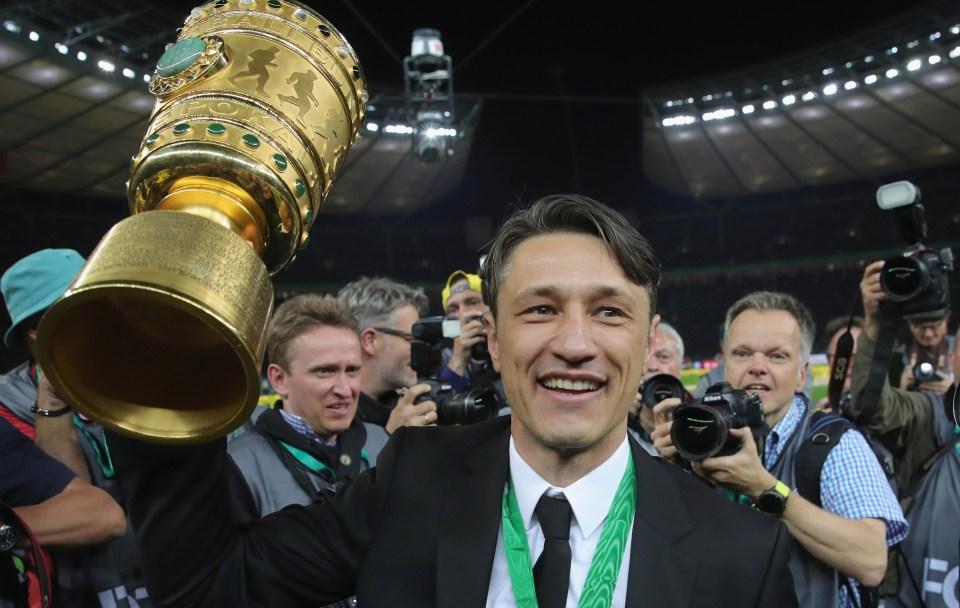 Kovac said farewell to Frankfurt
