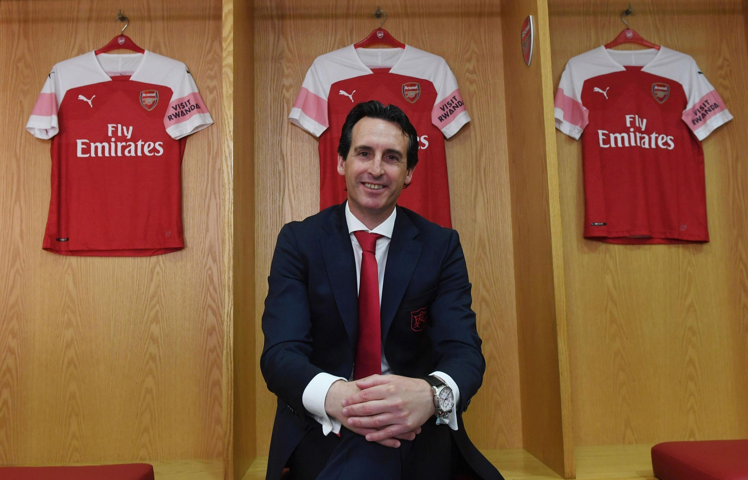Unai Emery was unveiled as Arsene Wengers successor last week