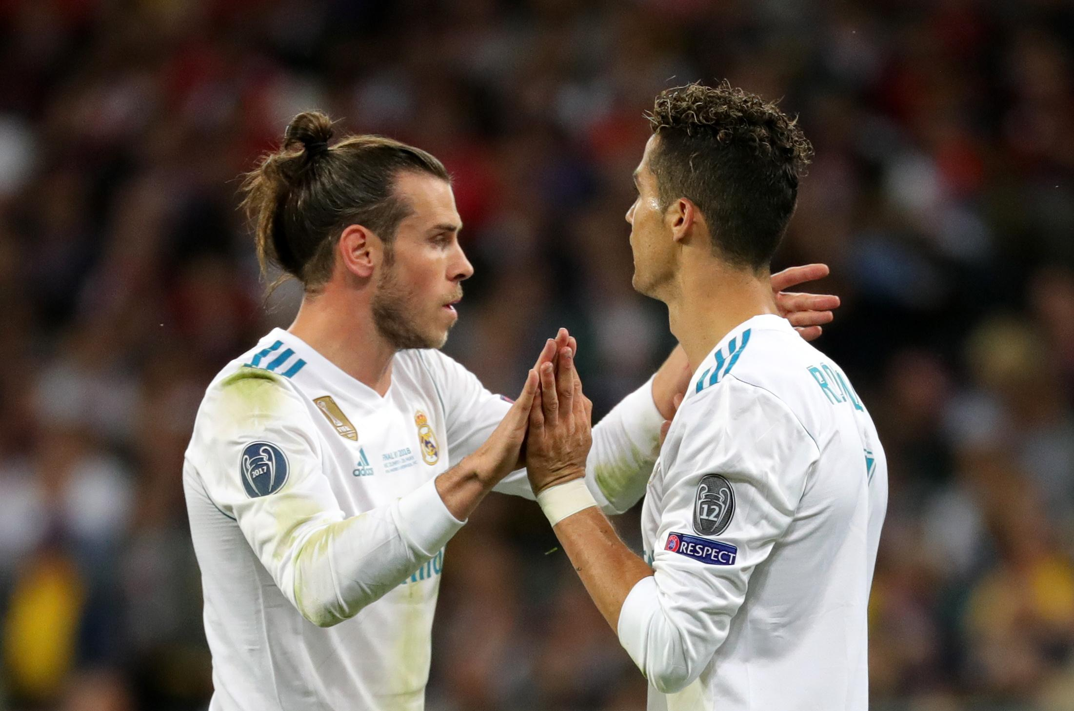 Bale and Ronaldo have clashed in the past