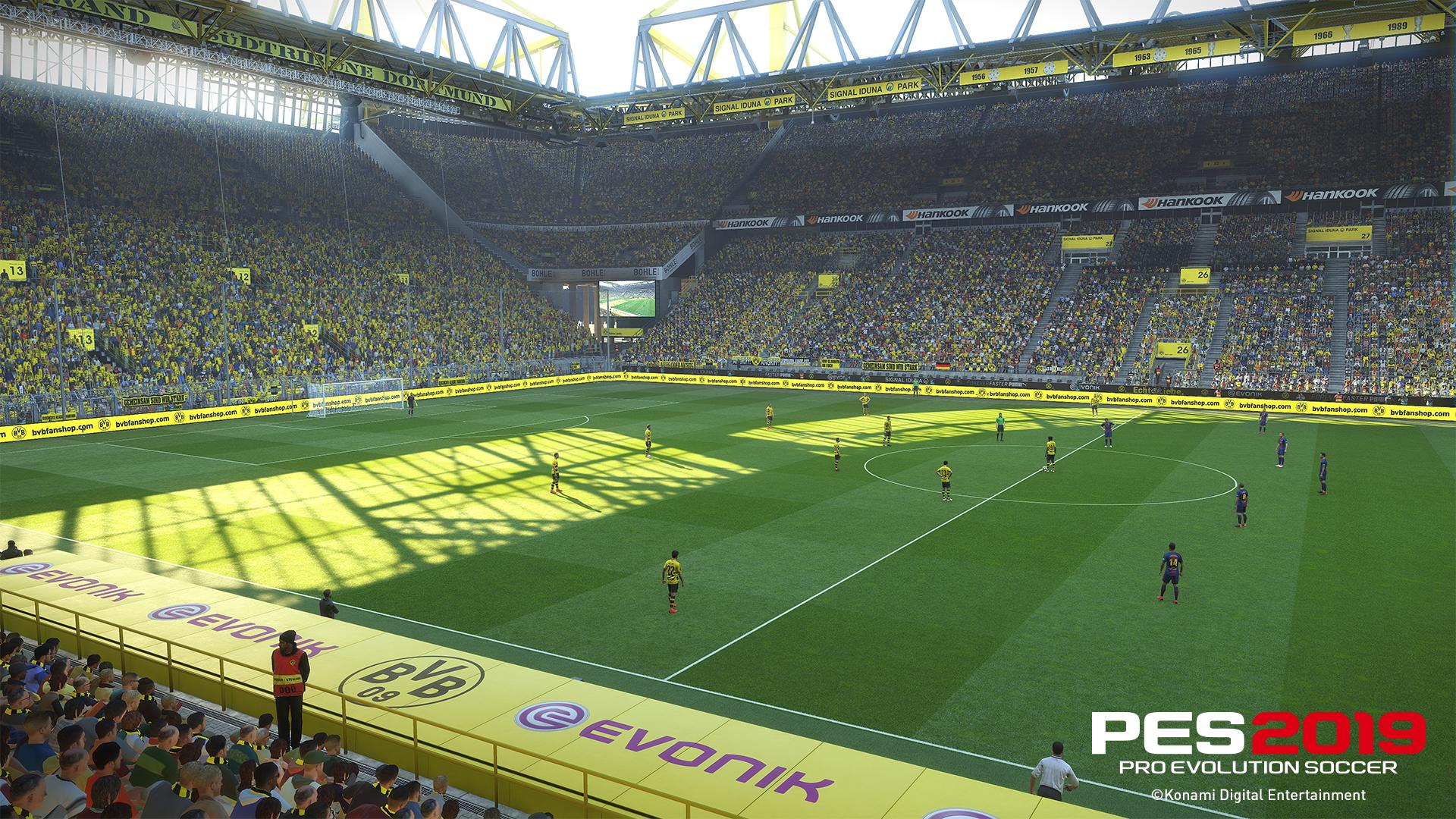 PES 2019 graphics have been significant improved since the last game