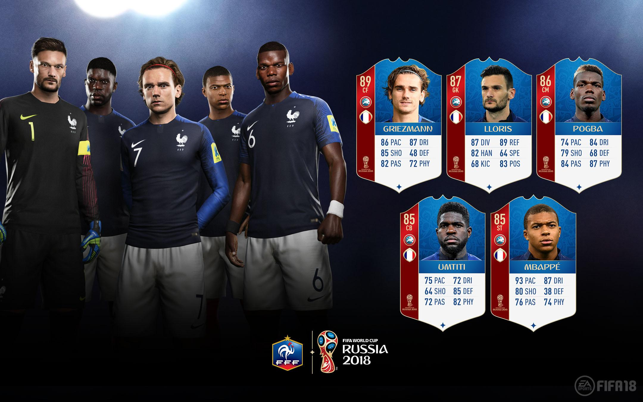 Image result for france fifa 18
