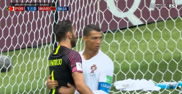 It's appreciated by Ronaldo