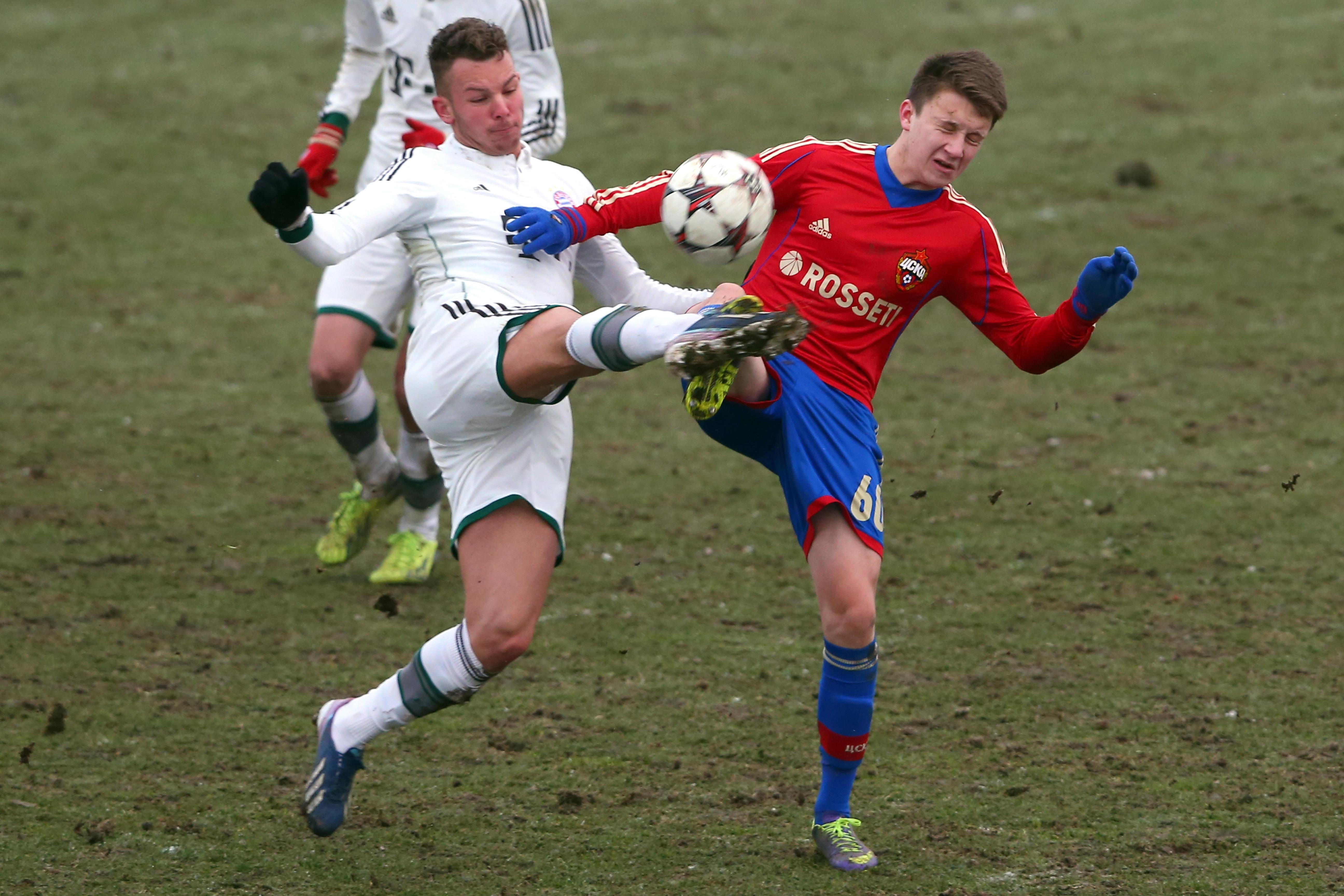 The midfielder began to make an impression in the CSKA youth teams