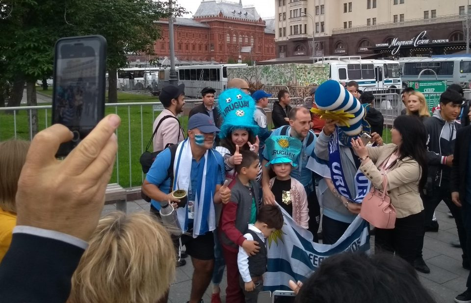 Uruguayan World Cup fever level: 100%