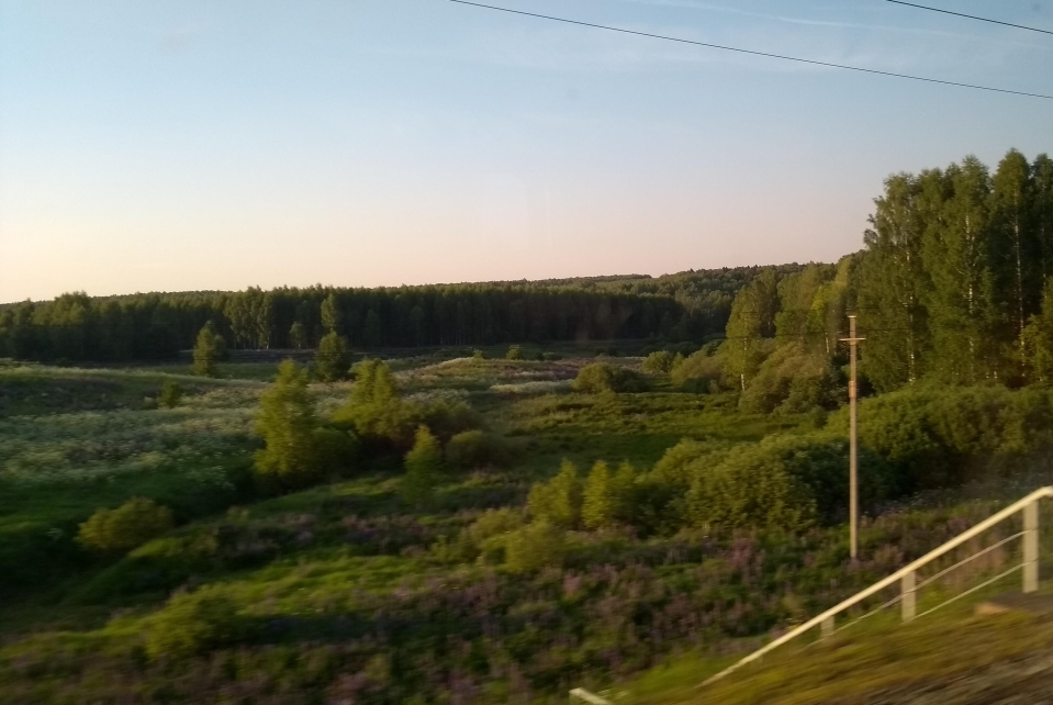 Could be the Russian countryside, could be Lincolnshire. It's Russia, though, for the avoidance of doubt