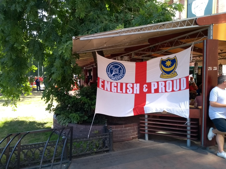 More English fans have been arriving as the tournament progresses, could we see a Moscow takeover?