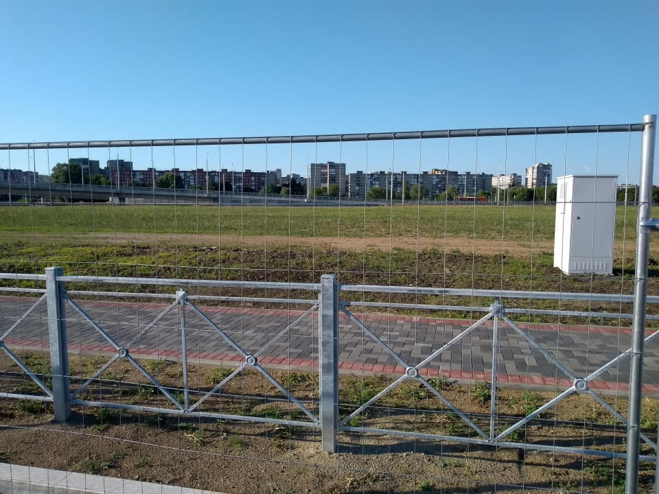 Believe it or not, this is 500 metres from the stadium
