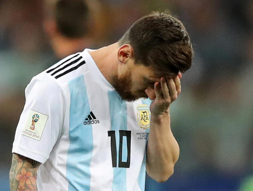 The 3-0 defeat was a headache inducing one for Messi