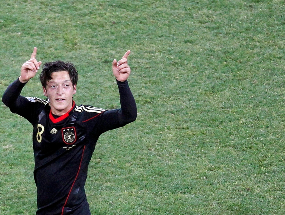 Ozil came of age in 2010