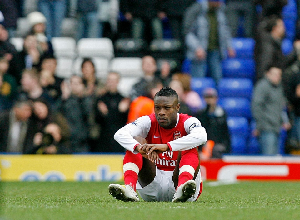 William Gallas had a good old sulk when everything imploded