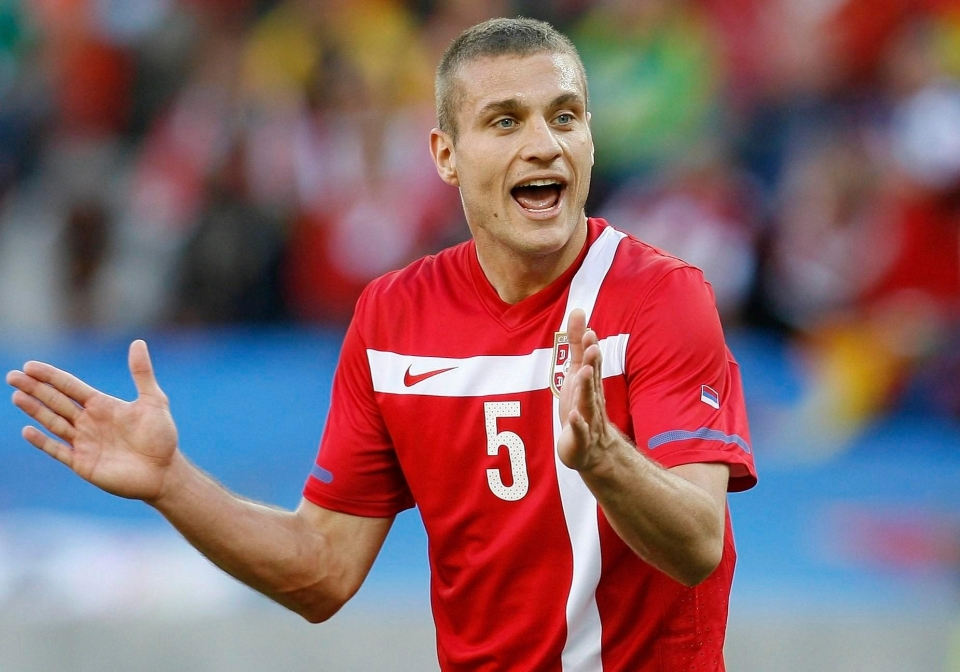 Nemanja Vidic decided to retire from international duty after Serbia's group stage exit at the 2010 World Cup