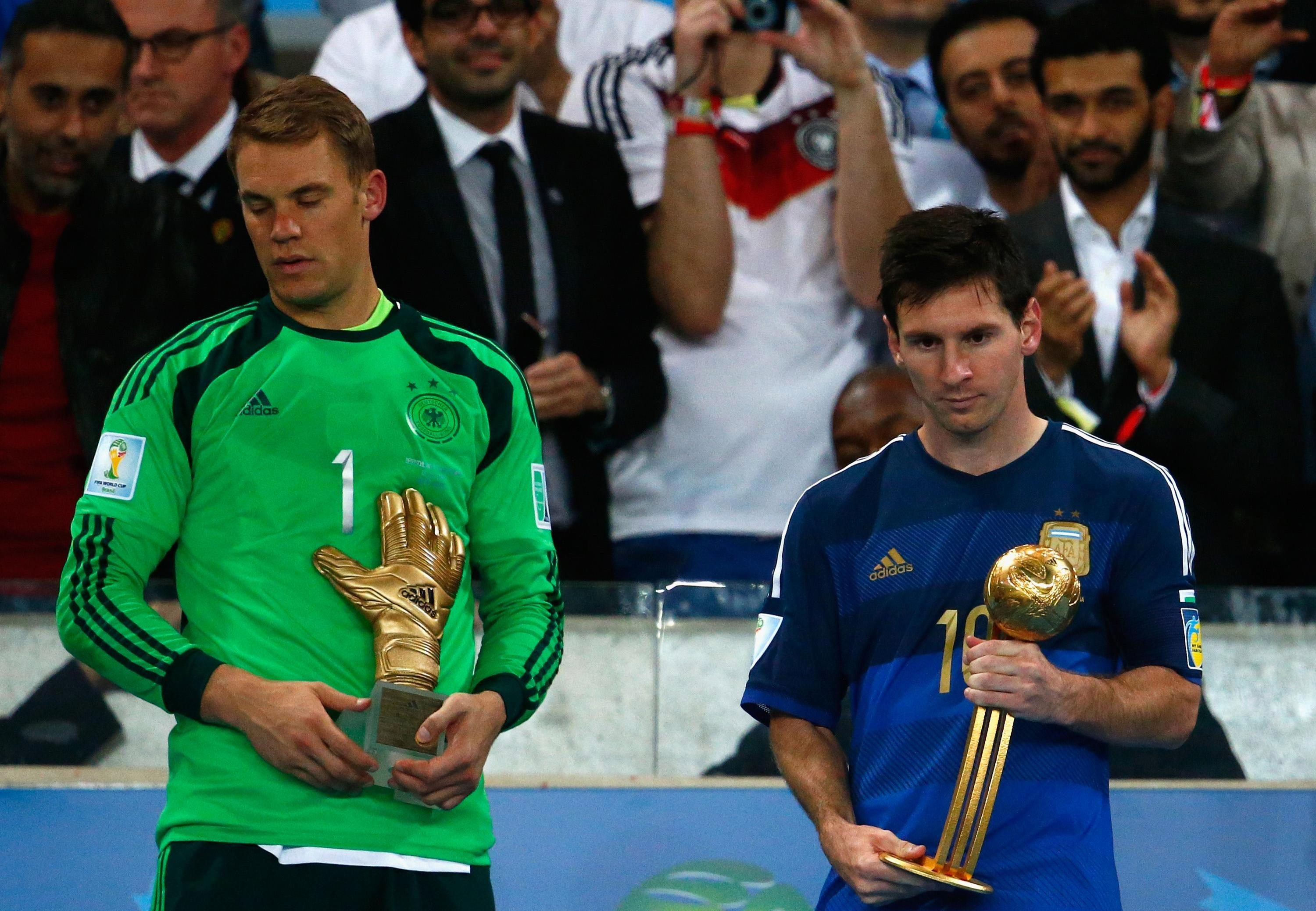 Messi got his hands on a trophy despite suffering final heartbreak against Germany