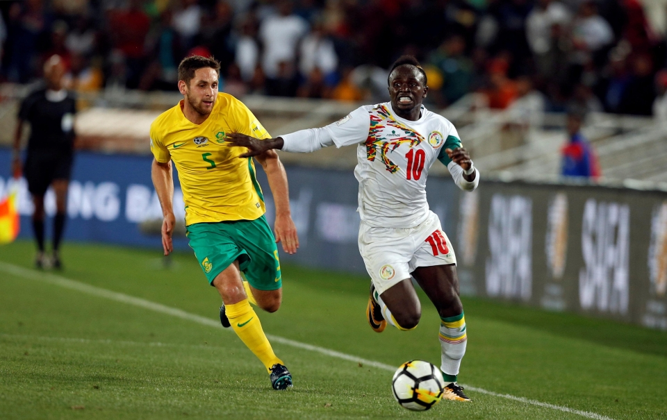 Mane ensured that there would be no World Cup football for South Africa in 2018