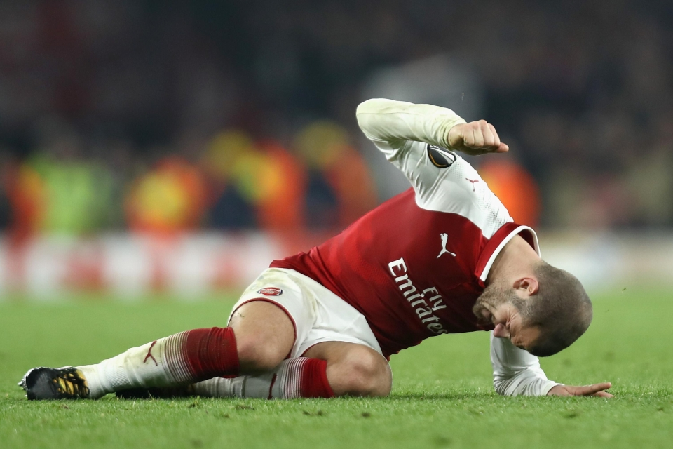 Wilshere's determination to fight back time and time again should be commended