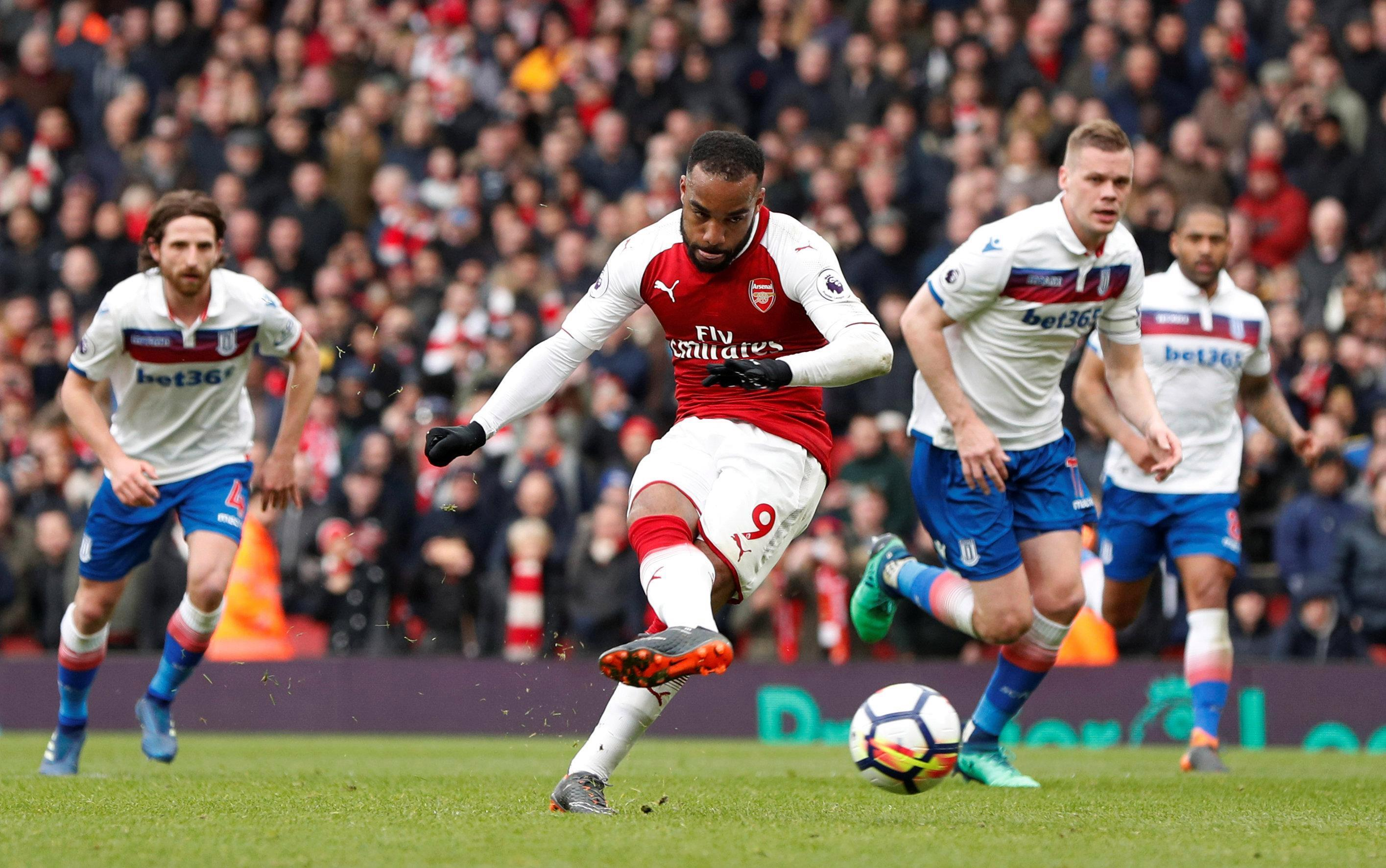 Lacazette banged in 17 goals in all competitions since joining from Lyon last summer
