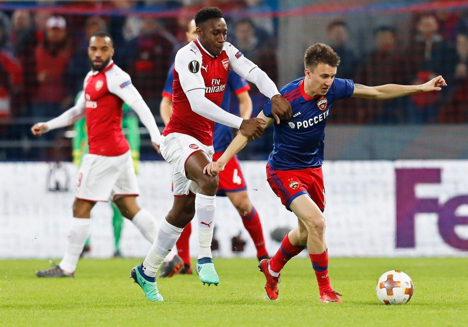 His CSKA side were knocked out by Arsenal in the Europa League quarter-finals