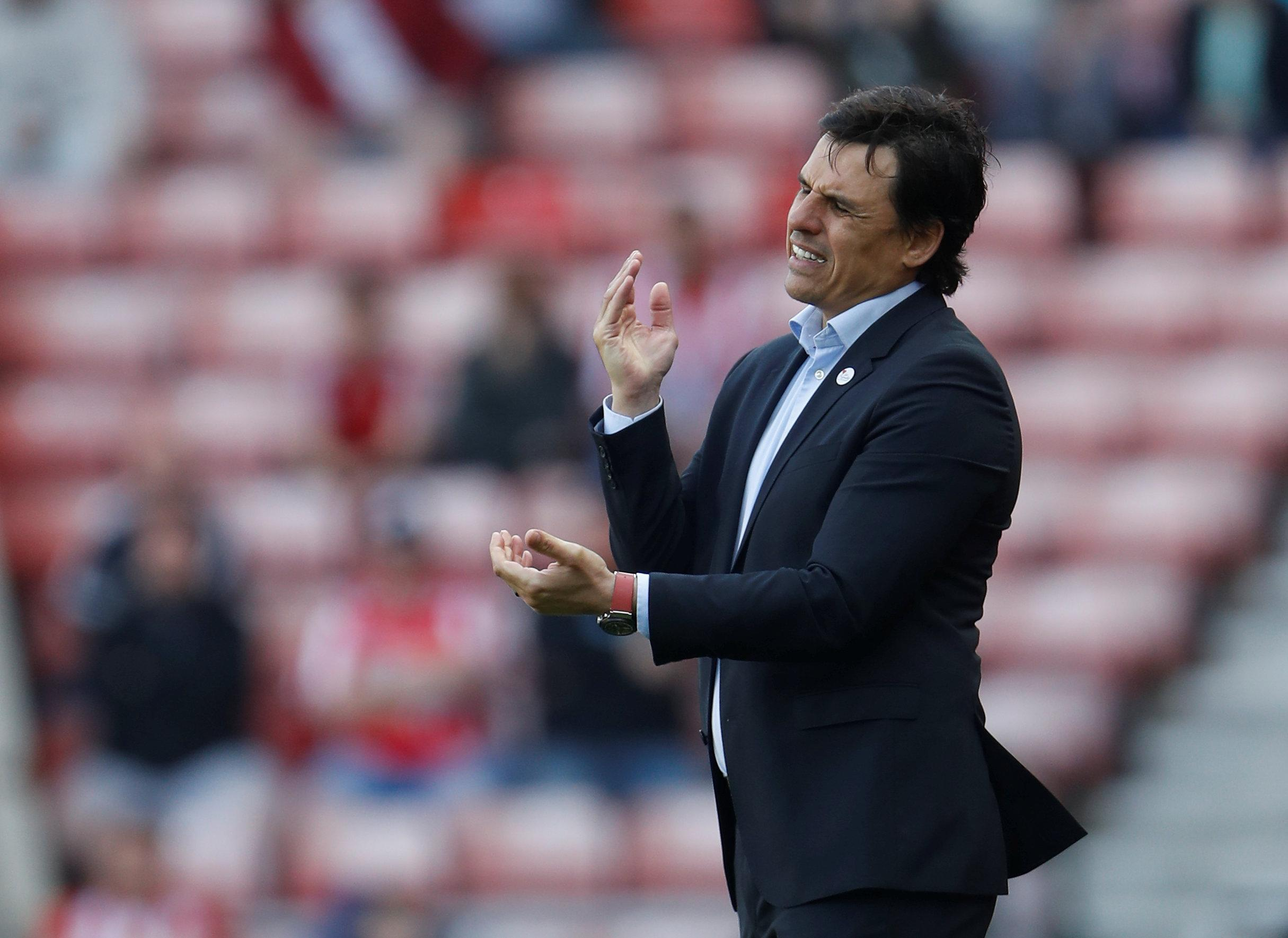 Coleman suffered a tough spell at Sunderland