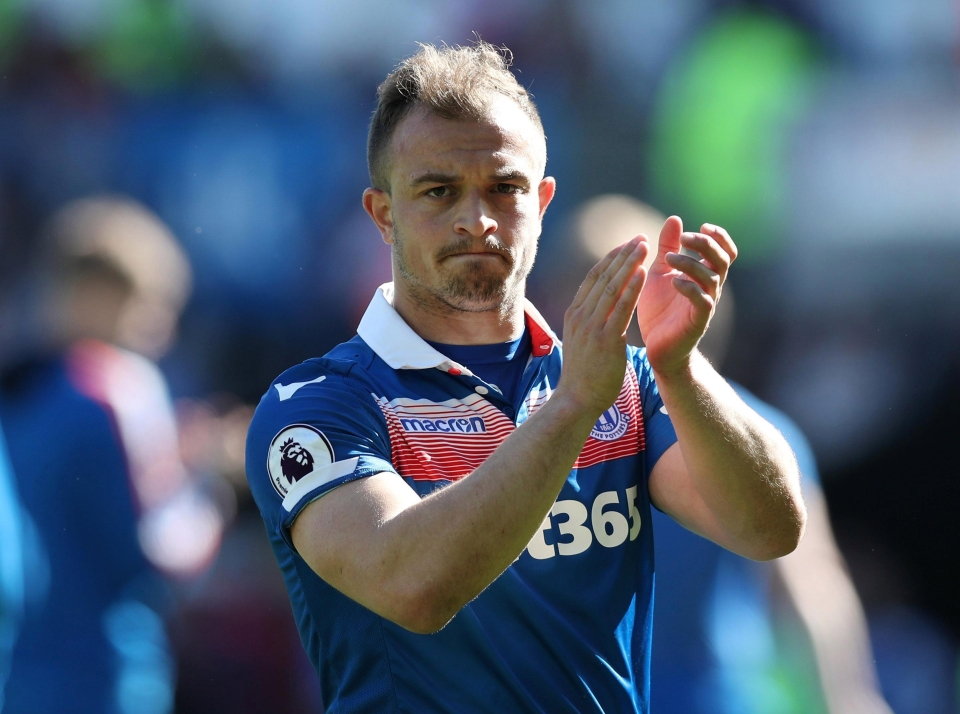 Liverpool are ready to press ahead with their attempts to sign Xherdan Shaqiri after the World Cup finishes