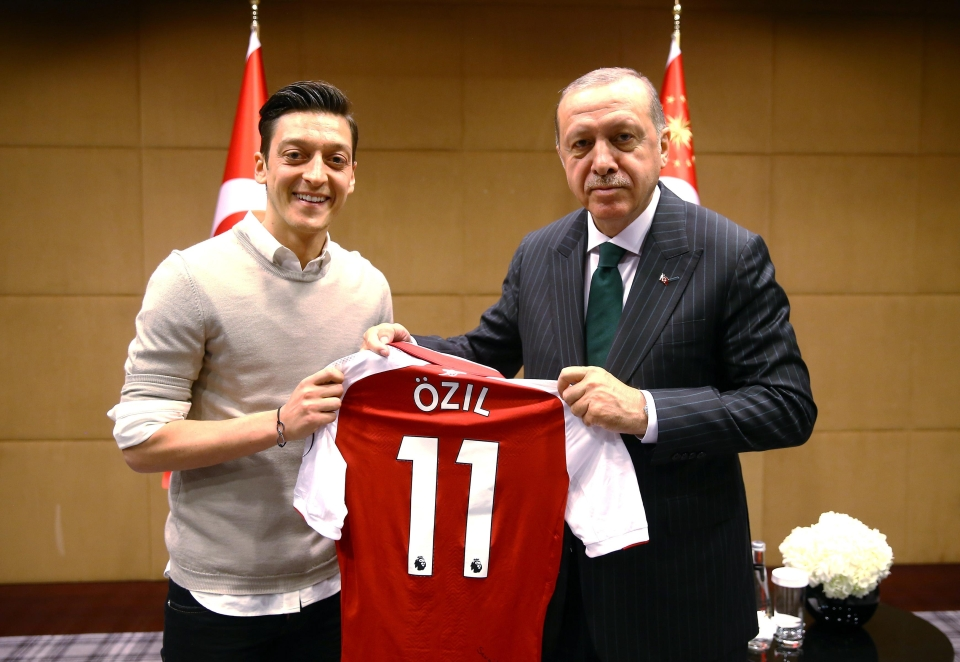 Why does this look like Ozil has signed for the Turkish government?