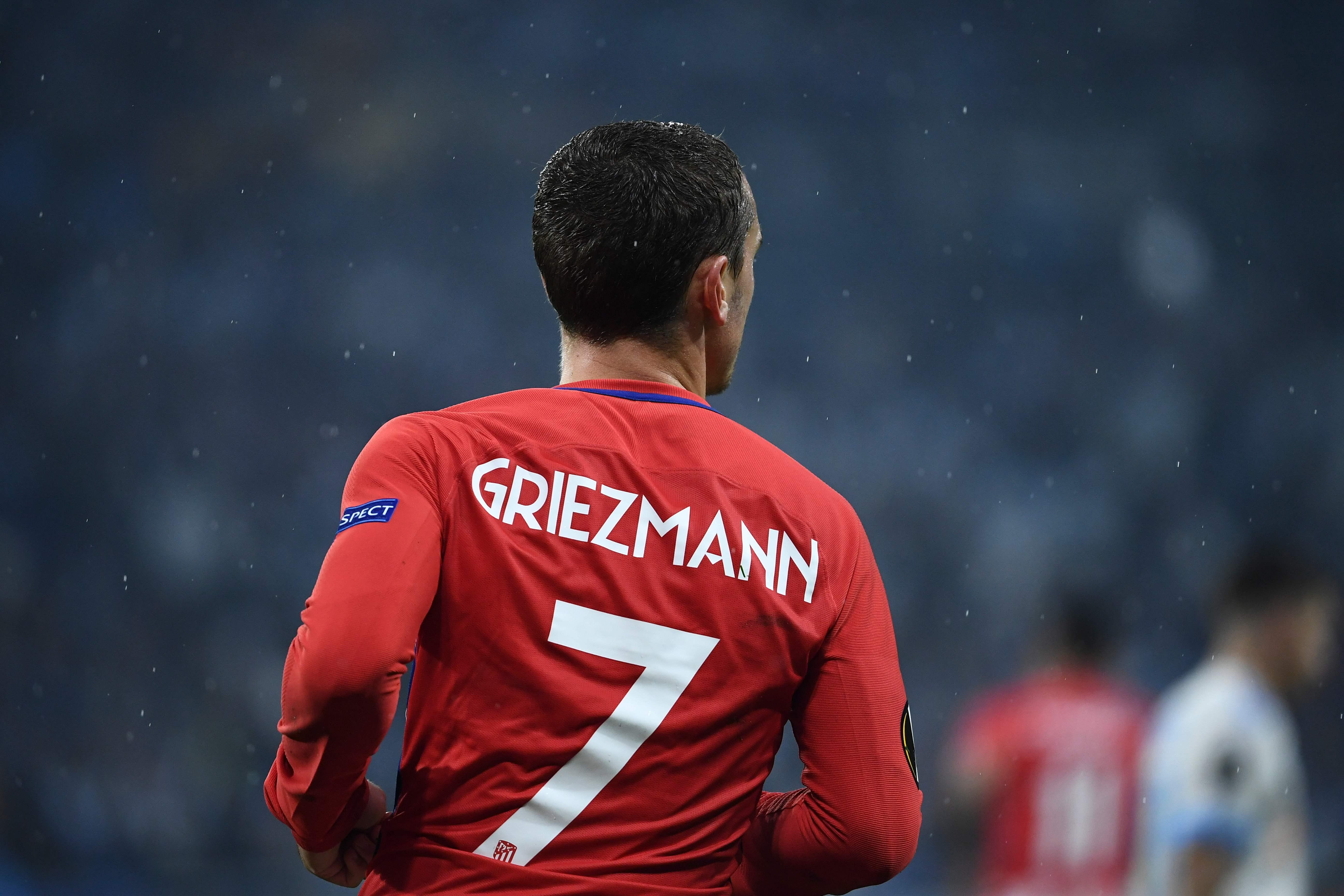 Griezmann wears the No 7 jersey to honour his idol Becks