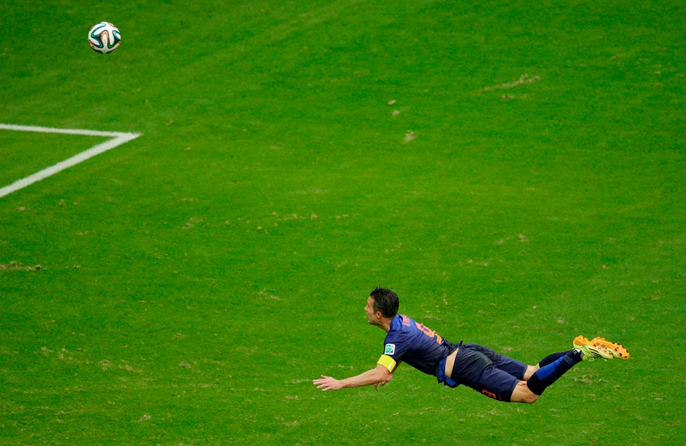 RVP showing 'em how it's done