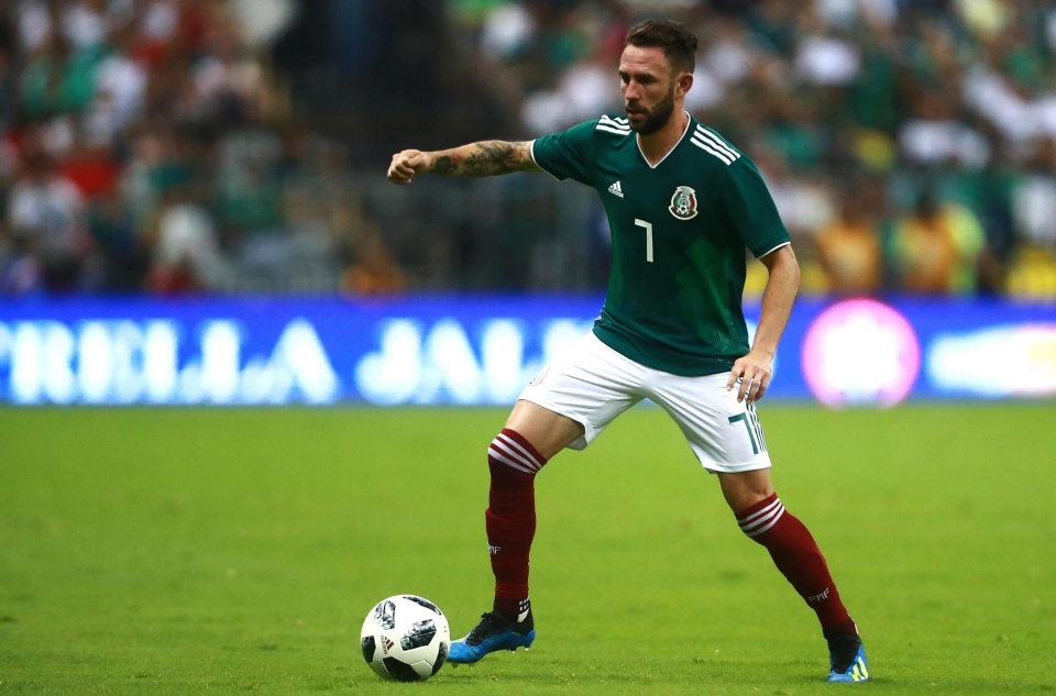 Miguel Layun won't feature in his familiar left-back role