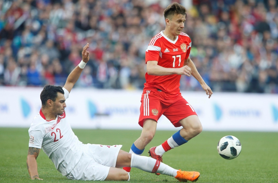 Golovin will be making defenders look silly this summer