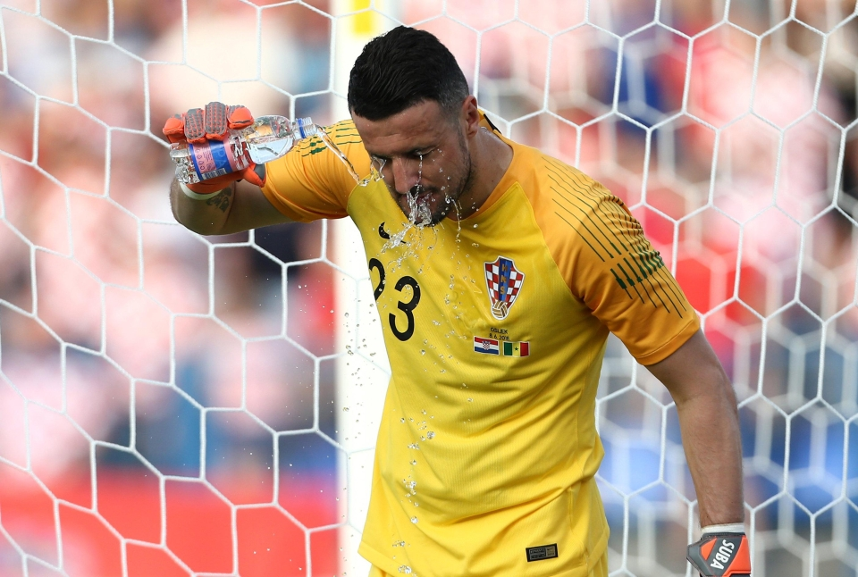 Subasic will hope to finally keep out Argentina strikers