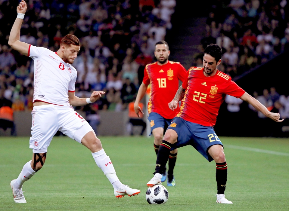 Isco will be making defenders look silly in Russia this summer