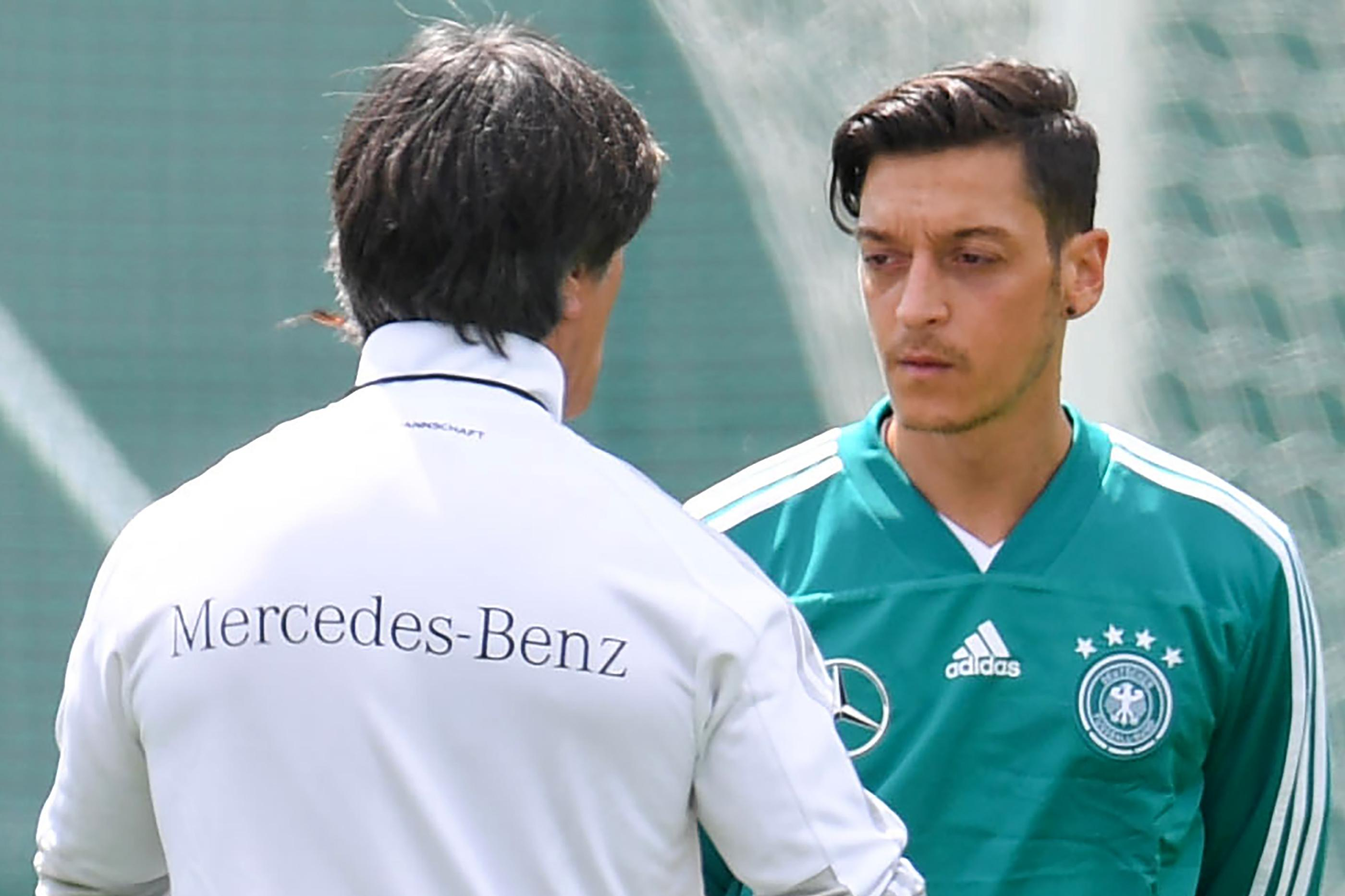 Loew and Ozil have been inseparable