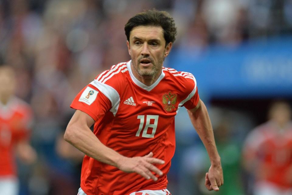 Ex-Chelsea man Zhirkov is his next target