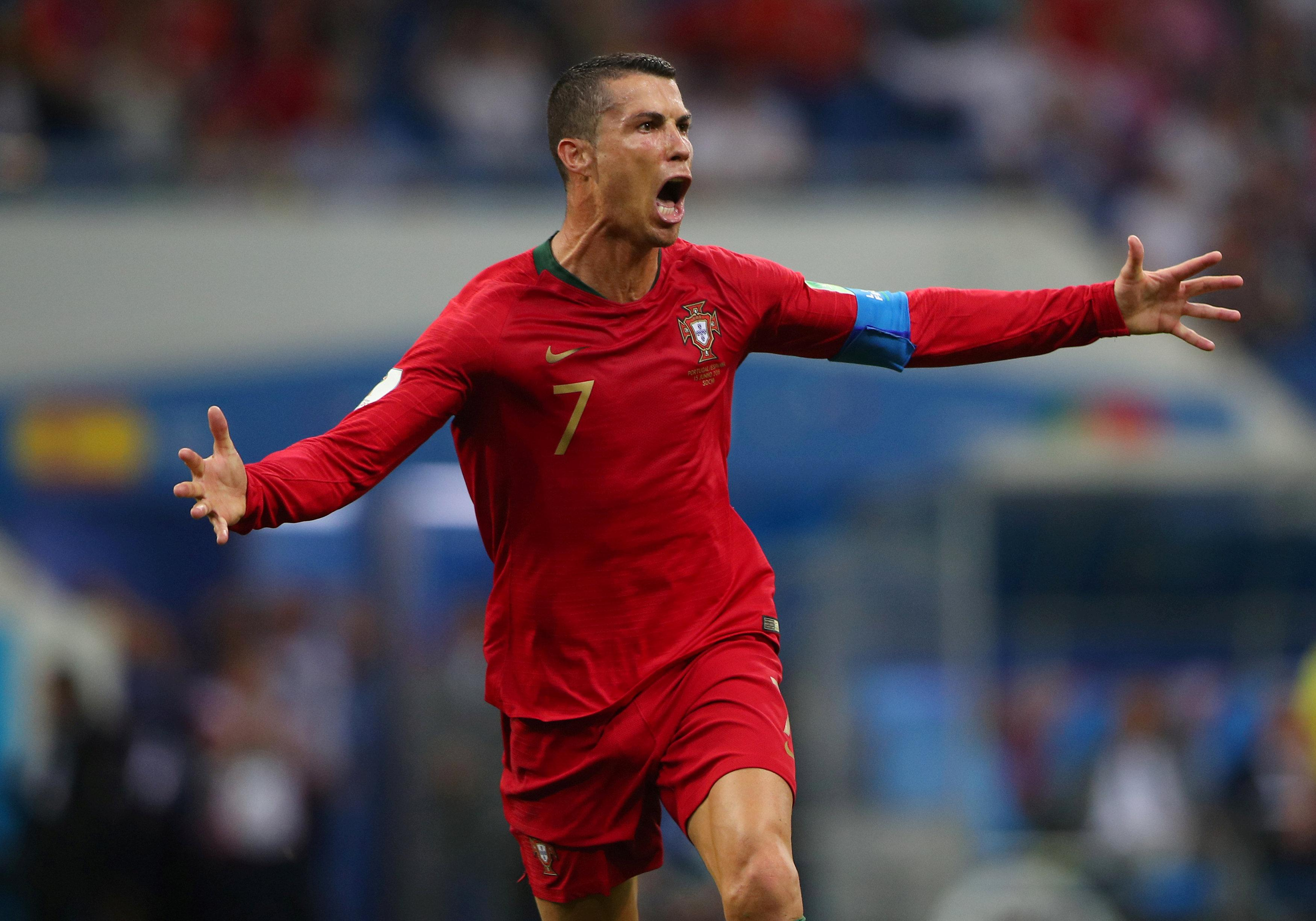 This is Ronaldo's world and we're just livin' in it