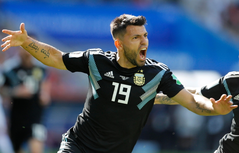 When you score your first World cup goal