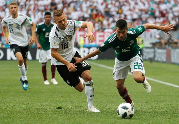 Lozano had Kimmich on toast against Germany