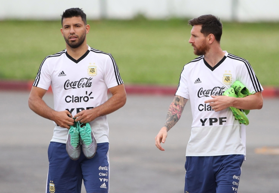 The Barca man will hope to replicate Aguero's form against the Croatian goalkeeper