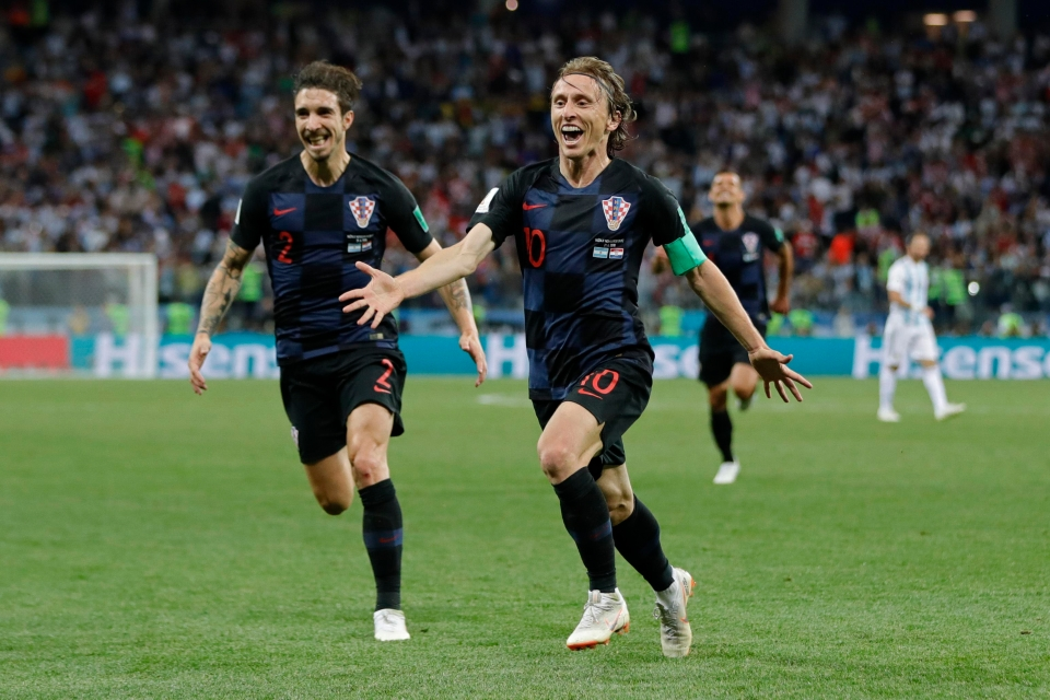 The World Cup is all about players like Modric