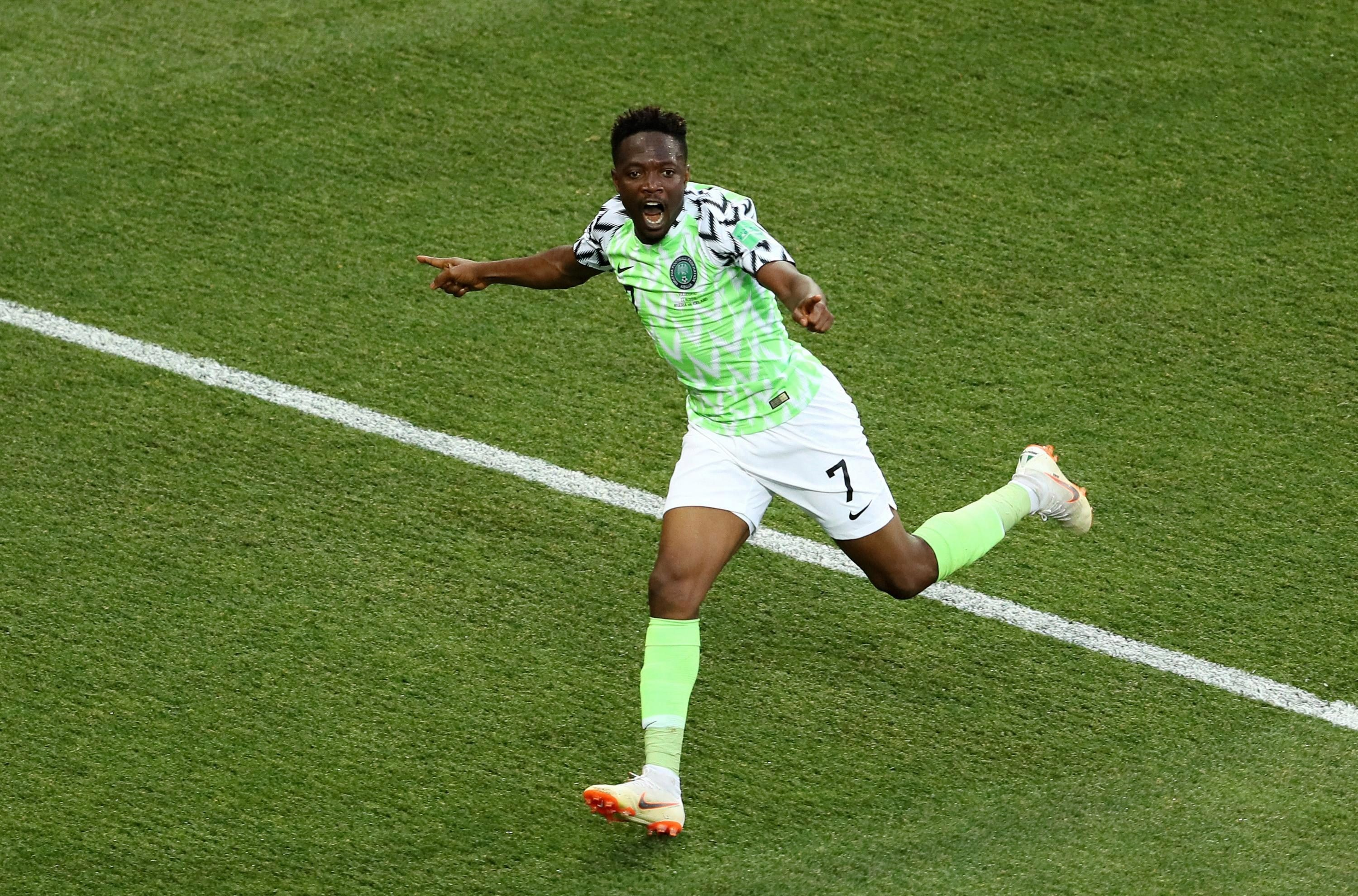 An Ahmed Musa double did the business against Iceland