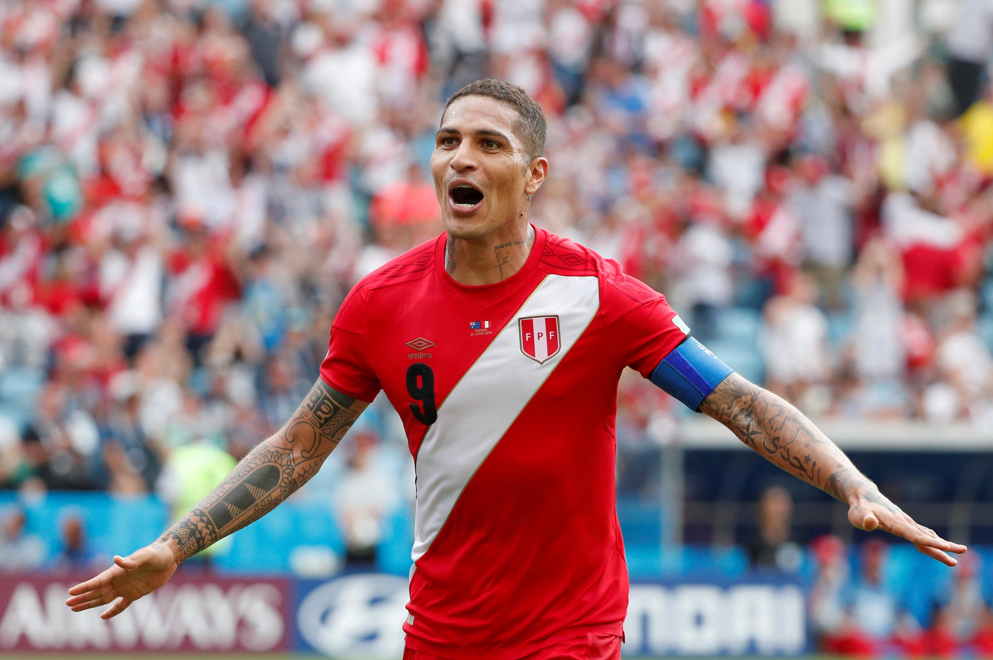 Party animal Paolo Guerrero finally had his moment