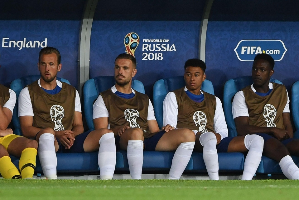 Warming the bench against Belgium