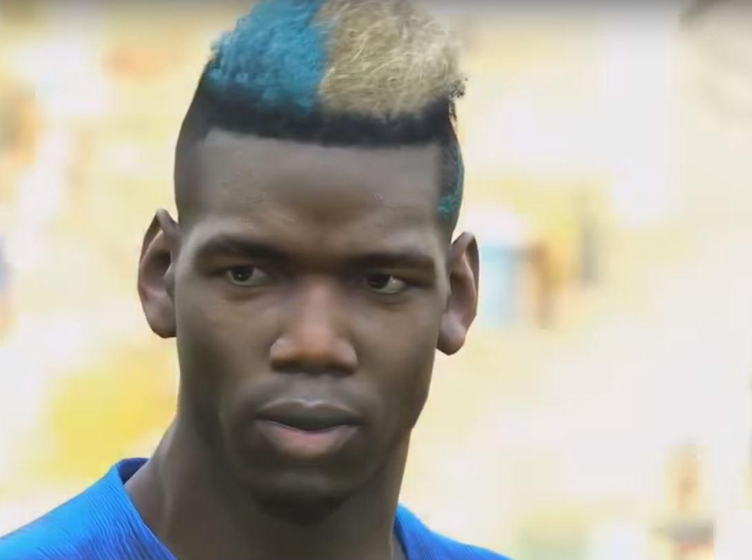 Paul Pogba looks photorealistic – this was taken using PES 2019's replay function