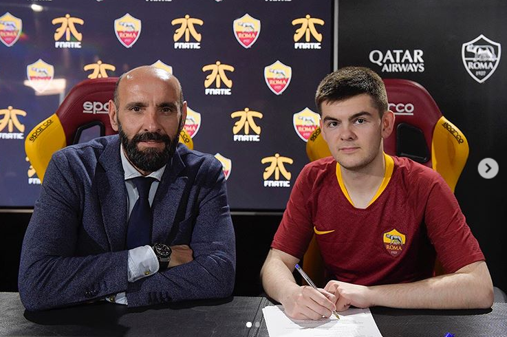 Rannerz signing for AS Roma