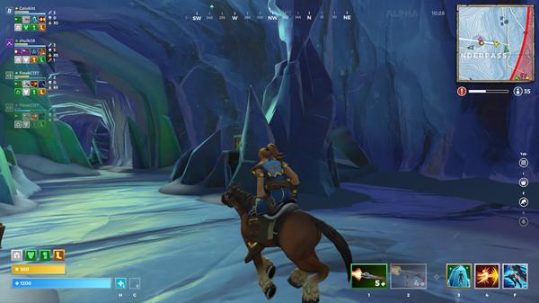 Mounts allow players to traverse the map with ease
