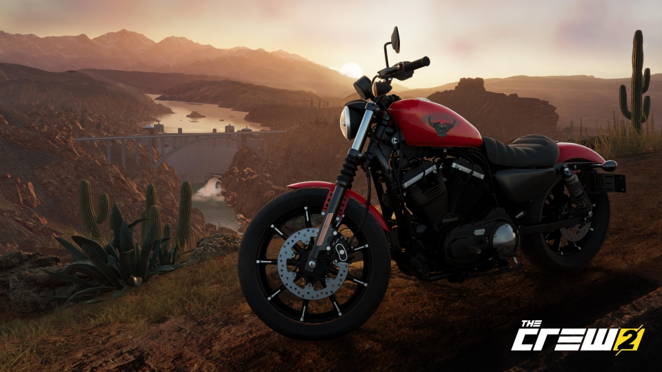 Motorbikes also feature in The Crew 2 – although the handing may take some getting used to