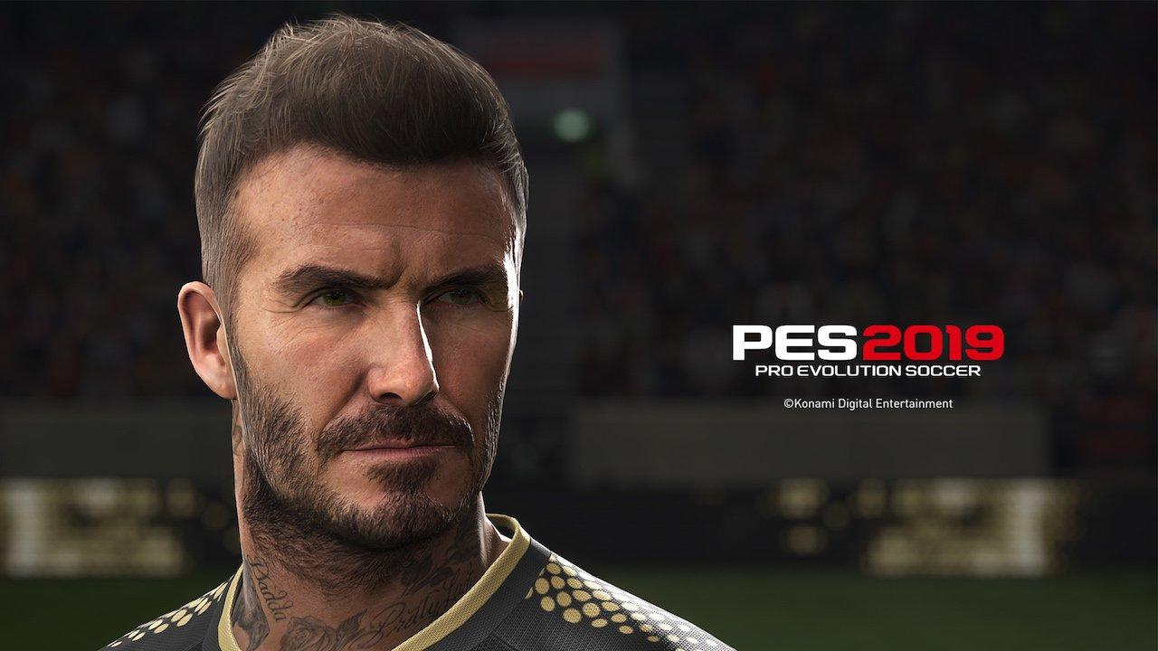 Becks is one of the big names involved in the PES marketing