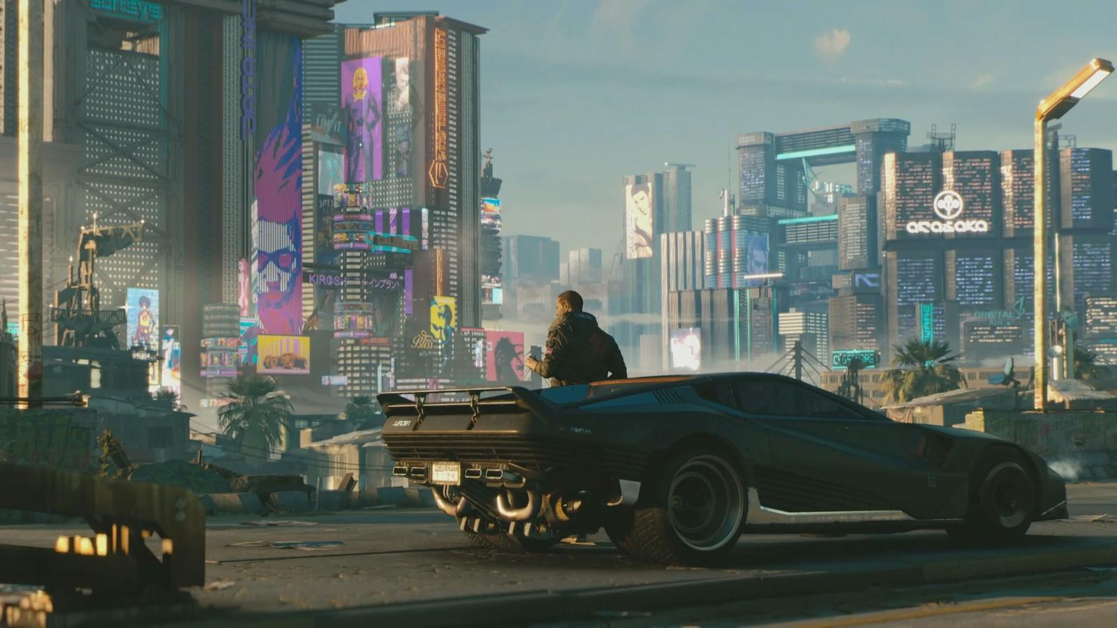 Cyberpunk 2077 looks amazing – although there's no firm release date as yet