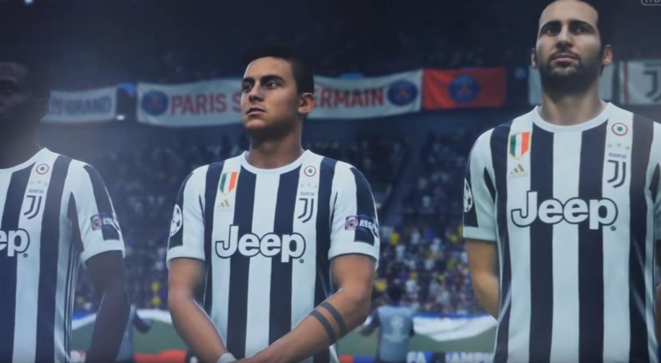 And here's Dybala in EA's latest FIFA – come on, you've got to admit the difference is pretty minimal