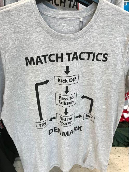 This t-shirt is actually being sold in Denmark