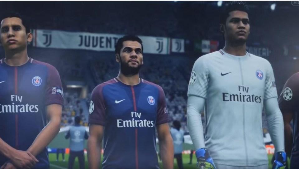 Dani Alves lines up in FIFA 19