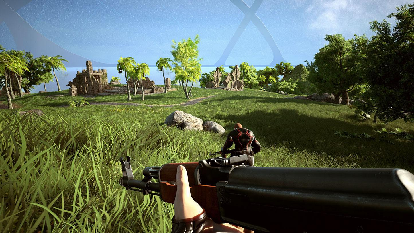 Weapons and armour are customisable and give you different tactical advantages