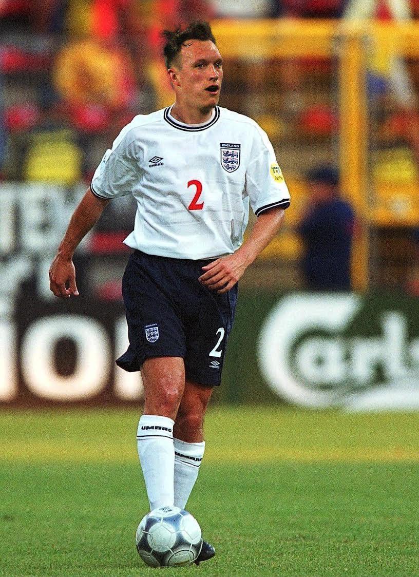 A refreshingly normal Phil Jones face at Euro 2000